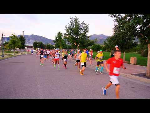Start of the 2015 American Discovery Trail Marathon