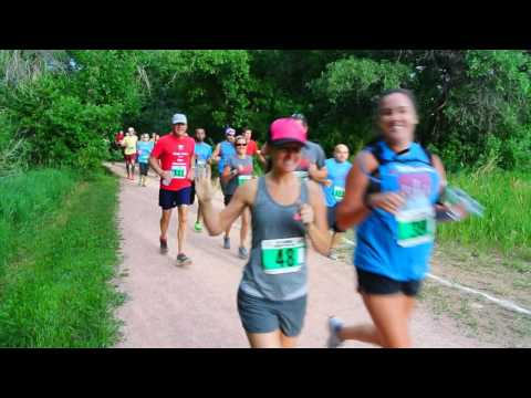 Start of the 2016 Summer Roundup Trail Run