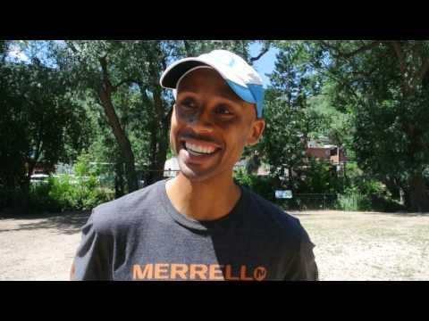 Joe Gray talks about setting Barr Trail Mountan Race record