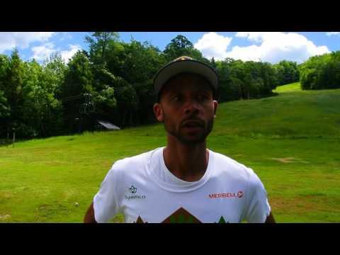 Joe Gray talks about winning U.S. mountain running title
