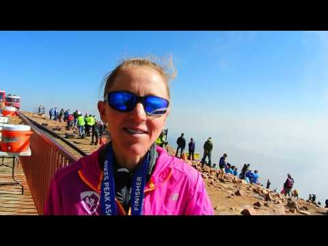 """Queen of the Uphill"" Kim Dobson wins fifth Pikes Peak Ascent"