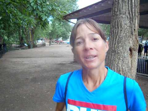 Interview with Laura Haefeli, winner of the Barr Trail Mountain Race