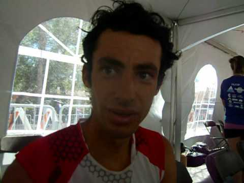 Kilian Jornet talks about his win in the Pikes Peak Marathon