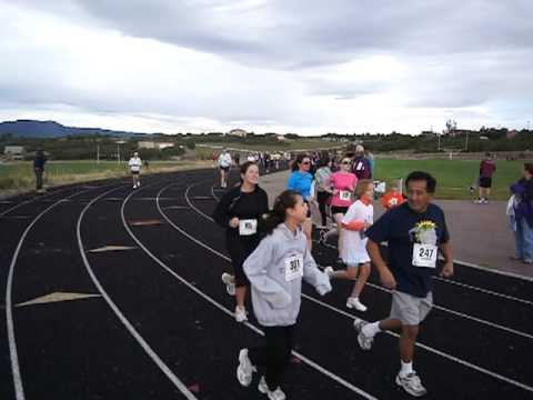 Start of the Thunderstorm 5K at Discovery Canyon Campus