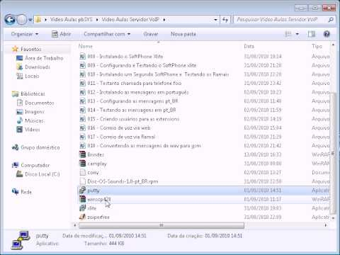 Video Tutorial PBX IP Asterisk/Elastix ( Melhor que o trixbox )
