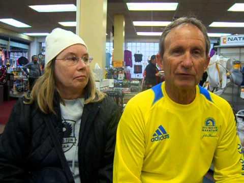 Michael and Elaine Allen talk about Boston Marathon bombings