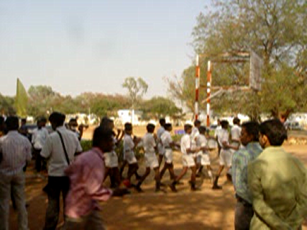 march past-1