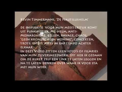 MEESTERSTUK 2014, Kevin Timmerman, De Nautilushelm.