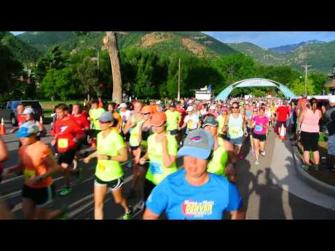 Start of the 2016 Garden of the Gods 10-Mile Run and 10K