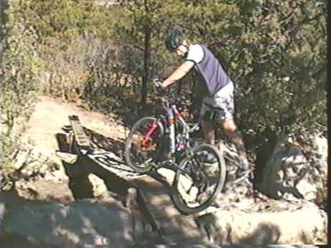Mountain Biking in Ute Valley Park in Colorado Springs
