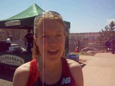 Three months pregnant, Brandy Erholtz wins Cheyenne Mountain Trail Race 25K