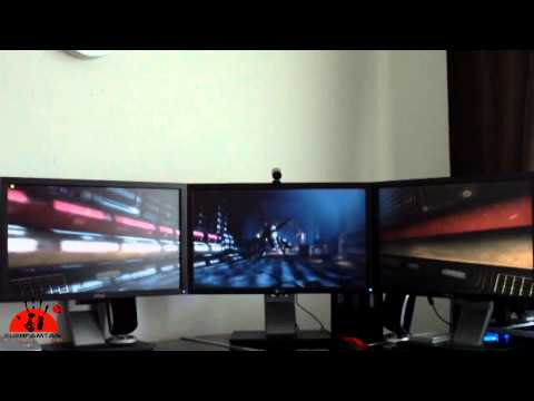 Eyefinity DX11 Benchmark, 5760x1080 Aliens vs. Predator