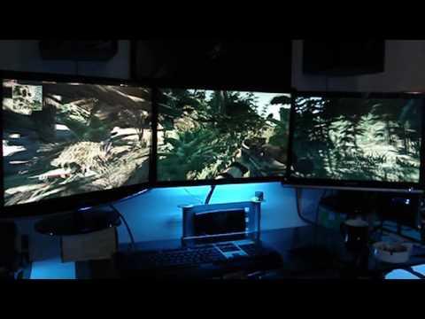 Sniper GW 3 Monitor nVIDIA Surround 5040x1050 Gameplay (HD)