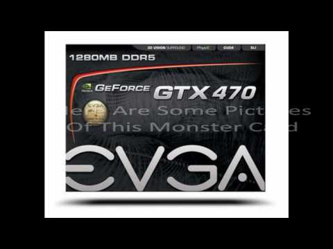 Pictures of the EVGA GTX 470 Superclocked: Single Card and SLI