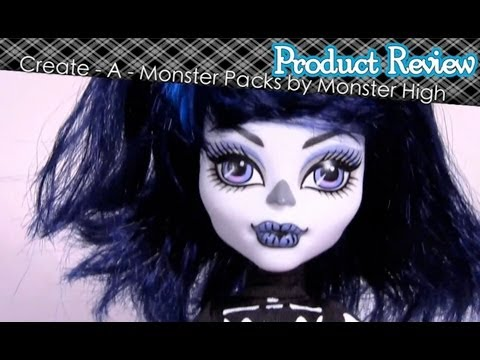 Monster High Create-A-Monster Packs/Sets Review