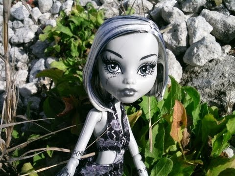 Monster High Skull Shores Frankie Stein Review