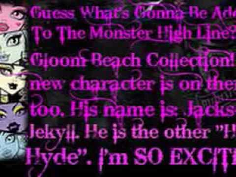 Monster High Gloom Beach