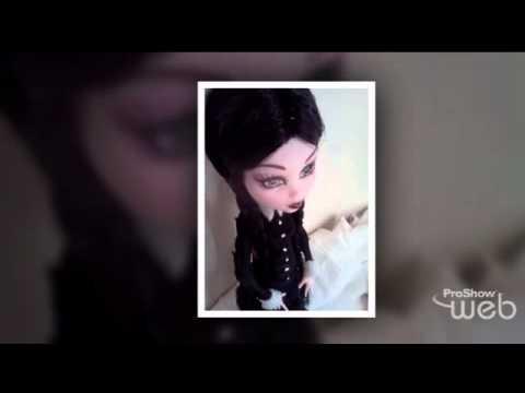 Addams Family Custom Monster High Dolls