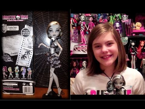 Monster High Frankie Stein Skull Shores Doll Review