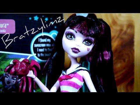 Monster High Skull Shores Draculaura Doll Review