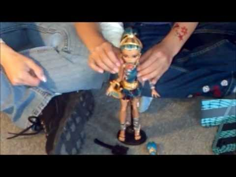 Monster High Nefera de Nile doll review