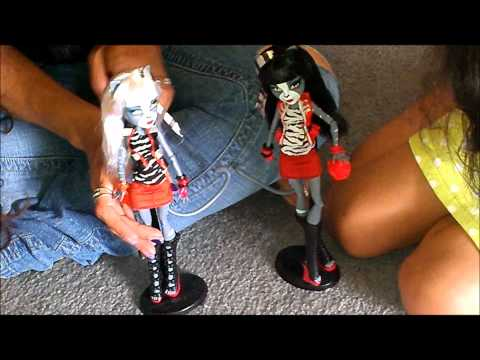 Monster High Werecat Twin Purrsephone and Meowlody Review