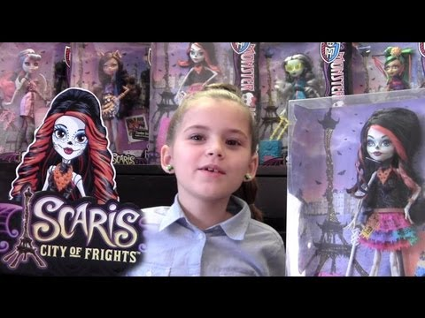 Skelita Calaveras Monster High Doll Toy Review, Dia De Los Muertos, Day of the Dead