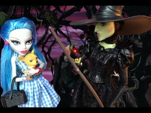 Monster high wizard of oz doll collection custom