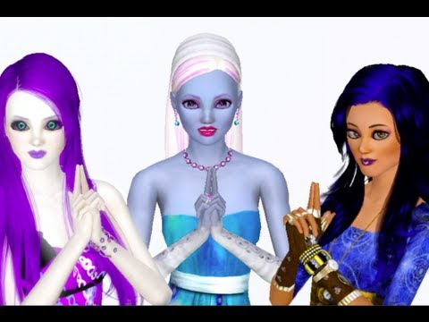 Abbey, Spectra, and Robecca Monster High Sims! *Download Links In Description*