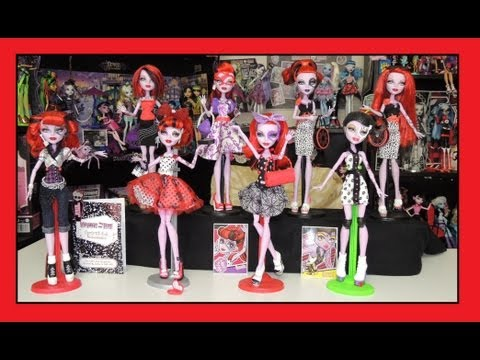 Monster High Operetta Doll Collection By WookieWarrior23