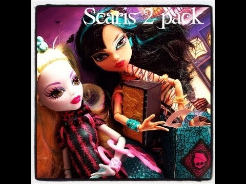 New Scaris 2 Pack Monster High Lagoona and Cleo
