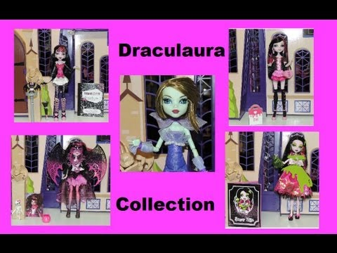 Monster High Draculaura Doll Collection By WookieWarrior23