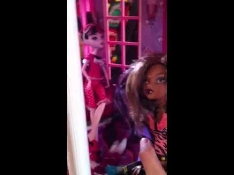 Monster High epic horror sleepover part 3
