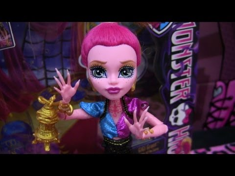 Monster High GiGi Grant 13 Wishes Review Video !!! :D!!