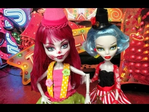 Monster High Circus Doll Collection custom clown and ring master