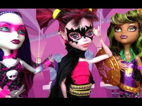 Monster high Bat Girl Draculaura Power Ghoul Doll custom
