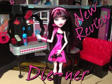 Die-ner Review they are out monster high