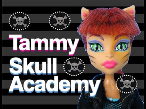 Monster High Doll Show | Skull Academy | Tammy