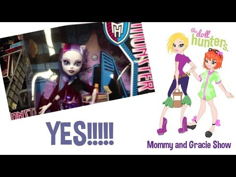 The Doll Hunters Mommy Finds Monster High Scaremester at Walmart