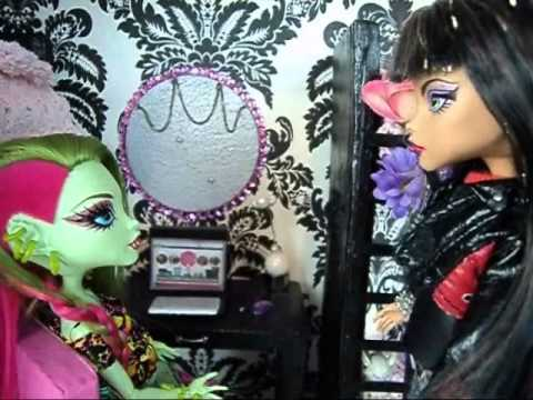 Skull Academy Story 93 Posters Monster High Doll Show