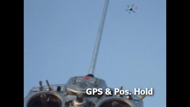 ArduPirates r458 on Hexacopter