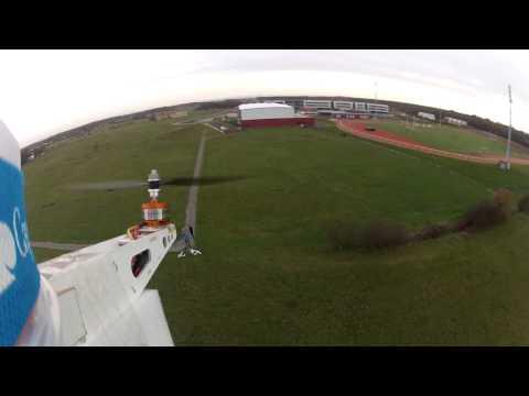 First GoPro Flight with my Java Quadrirotor
