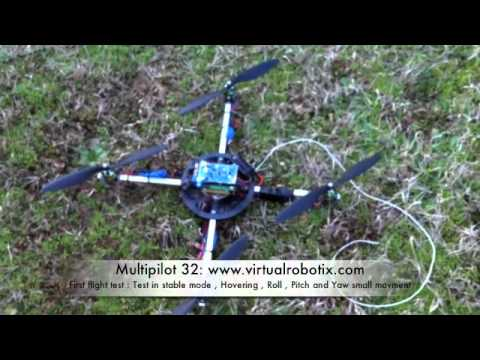 Multipilot 32 Official Hardware First Flight