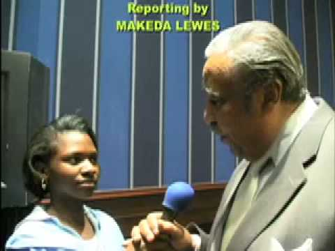 ITC TV- MS MAKEDA LEWIS INTERVIEWS CONG. C. RANGEL