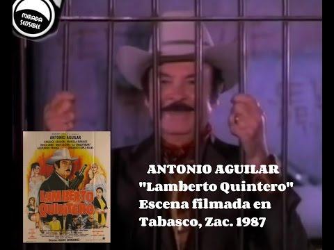 Escena de Lamberto Quintero filmada en Tabasco, Zacatecas.