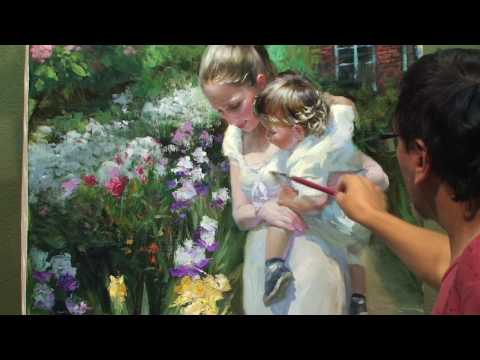 CREATING OF PAINTING  theme 2 by Vladimir Volegov