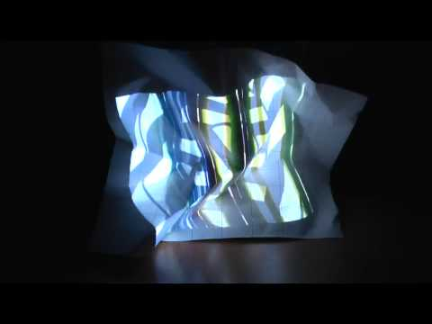 crumple projection HD
