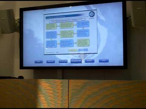 Coolux Touch Anwendung TÜV SÜD auf der AMITEC