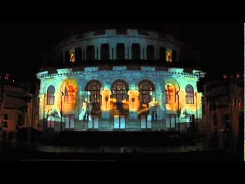 KOHAR Yerevan/Armenia building projection