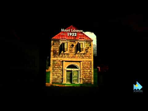 Novo Nordisk® history & development 3D Video Mapping